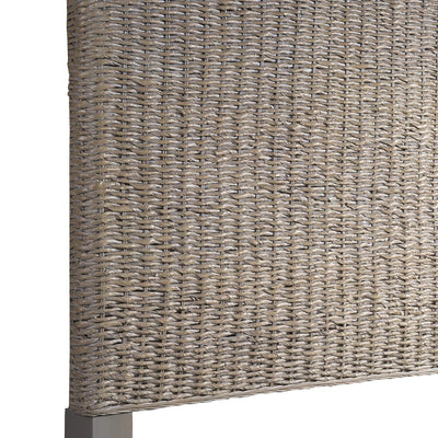 Driftwood Bedroom Grey Woven King Headboard