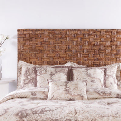 Driftwood Bedroom Banana Coffee Twin Headboard