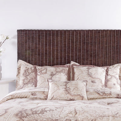 Driftwood Bedroom Cocoa Core Twin Headboard