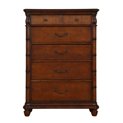 Isle of Palms Bedroom Brown Drawer Chest