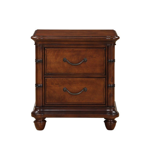 Isle of Palms Bedroom Brown Drawer Nightstand