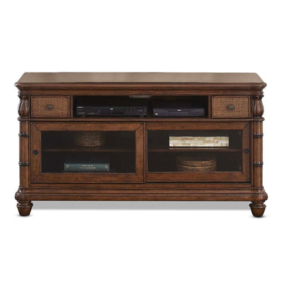 Isle of Palms Occasional Brown Entertainment Console Table