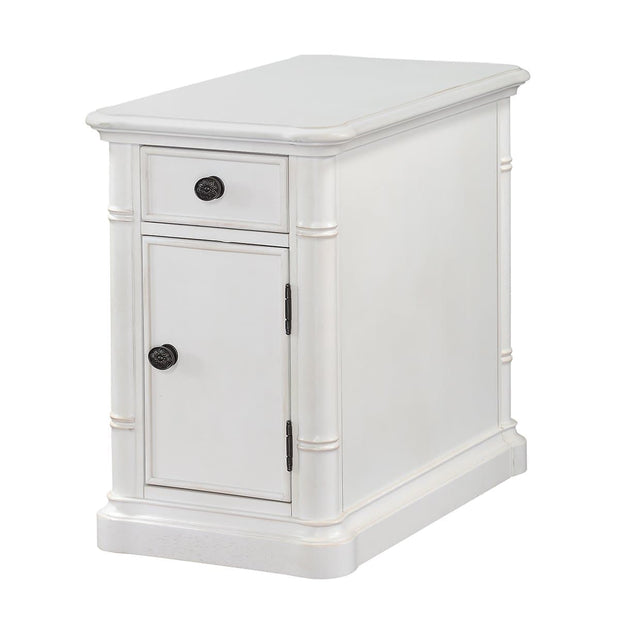 Isle of Palms Occasional Antique White Chairside End Table