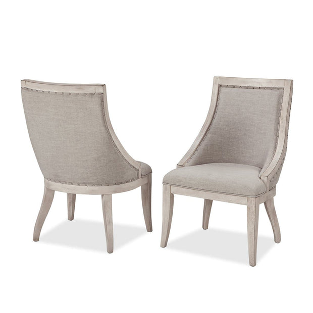 Graphite Dining Upholstered Side Chairs (Set of 2)