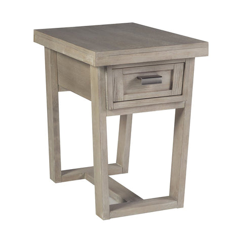 Graphite Occasional Chairside End Table