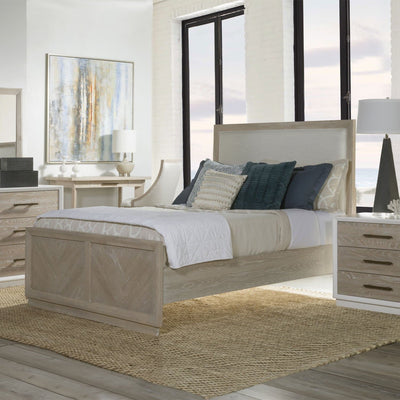 Boca Grande Queen Panel Upholstered Bed