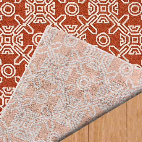 Signature Maui Terracotta Indoor & Outdoor Area Rug