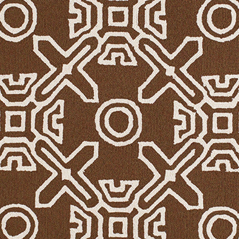 Signature Maui Chocolate Indoor & Outdoor Area Rug