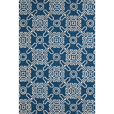 Signature Maui Cyan Indoor & Outdoor Area Rug