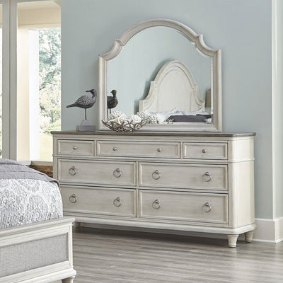 Sonoma Seven Drawer Dresser and Mirror Combo