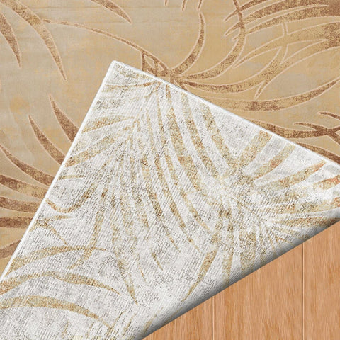 Original Palm Seafoam Indoor Area Rug