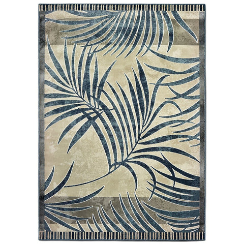 Original Palm Blueberry Indoor Area Rug