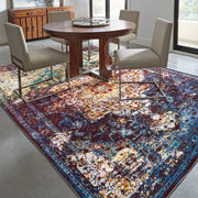 Bohemian Bahama Multi Indoor Area Rug