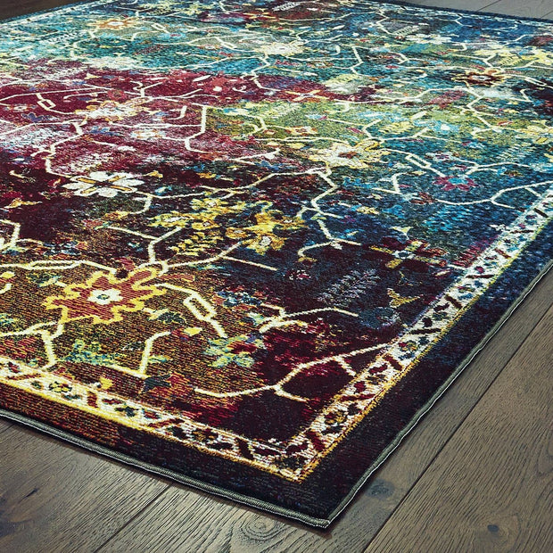 Bohemian Montego Multi Indoor Area Rug