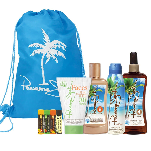 Summer Glow Essentials Sunscreen Gift Set