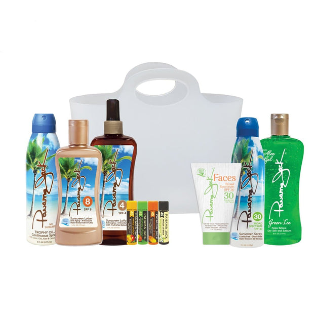 Sun-Kissed Glow Sunscreen Gift Set