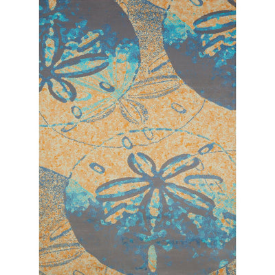Island Breeze Sand Dollar Cove Peach Indoor Area Rug