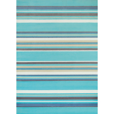 Island Breeze Windward Aqua Indoor Area Rug