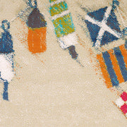 Island Breeze Set Sail Sand Indoor Area Rug