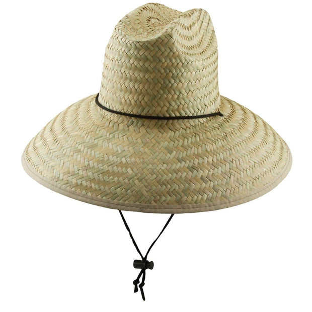 Palm Fiber Lifeguard Hat
