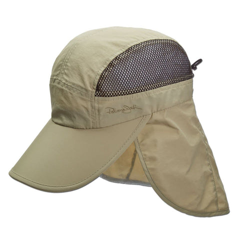 Adjustable Sun Shield Flap Cap