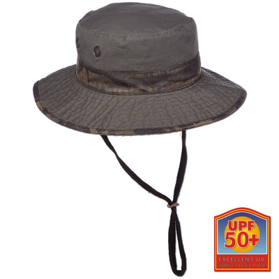 Garment Washed Camo Boonie Hat