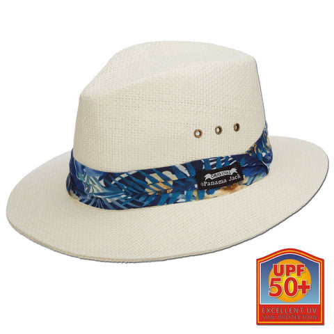 Tropical Band Natural Toyo Safari Hat