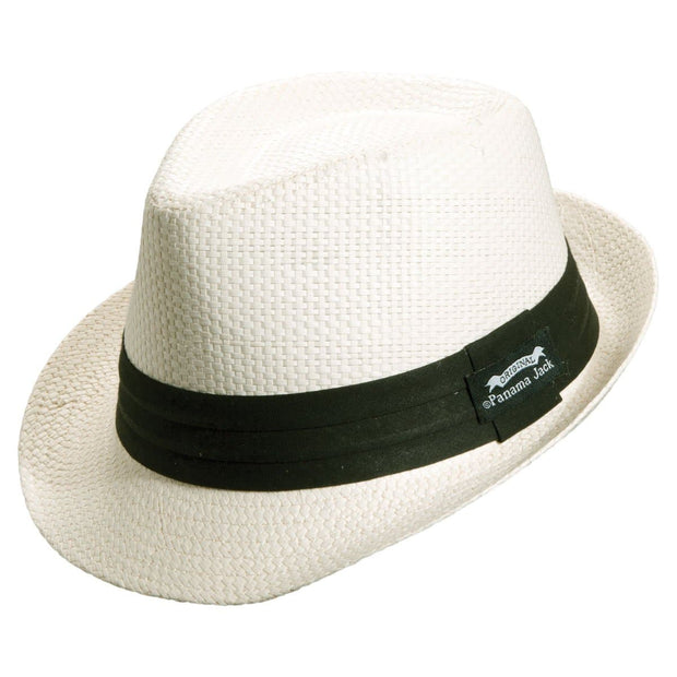 Solid Ribbon Fedora Hat