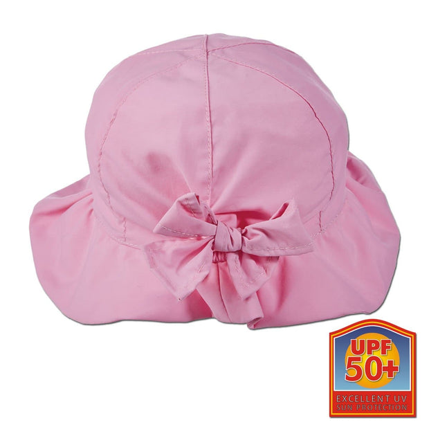 Ruffled Microfiber Beach Hat
