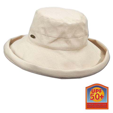 Big Brim Adjustable Drawstring Hat