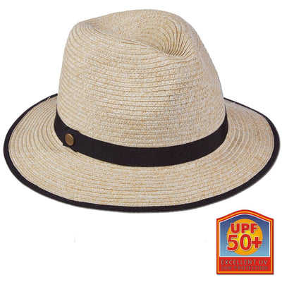 Roll-up Paper Braid Safari Hat
