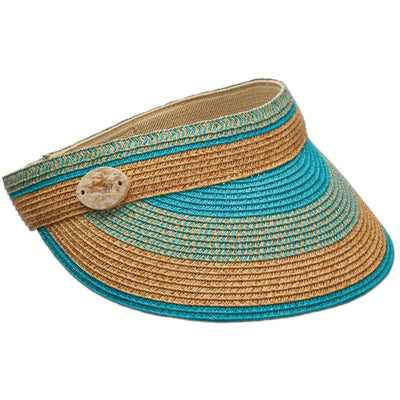 Paper Braid Sun Visor Hat