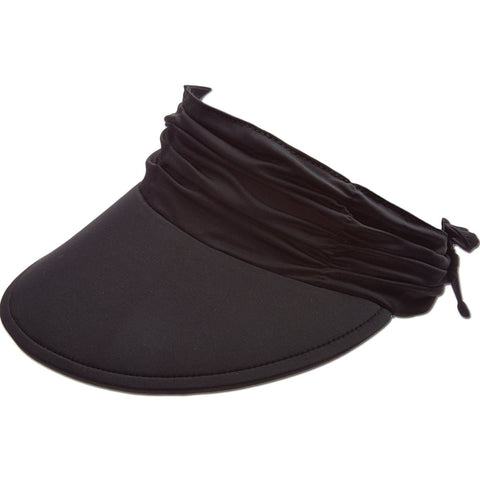 Floating Peak Ruche Sun Visor Hat