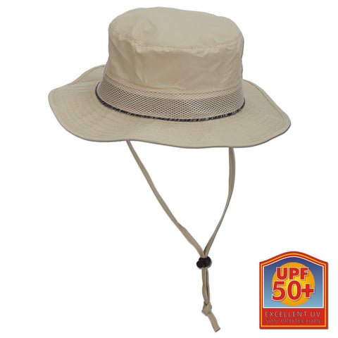 Contrast Under-Brim Nylon Boonie Sun Hat