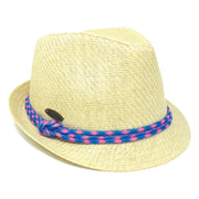 Matte Toyo Multi-Braid Fedora Sun Hat
