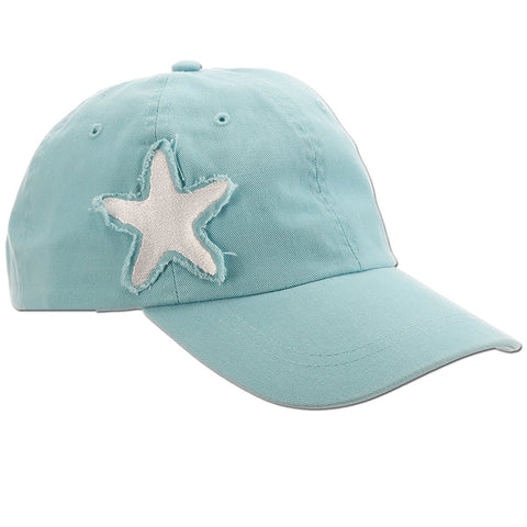 Sea Creatures Frayed Patch Baseball Cap