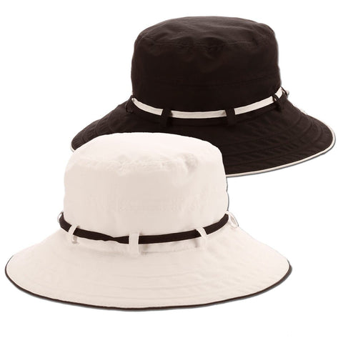 Nylon Contrast Bucket Hat