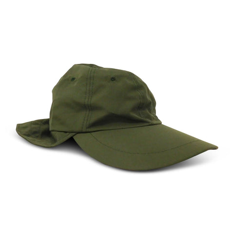 Microfiber Adjustable Sun Shield Flap Cap