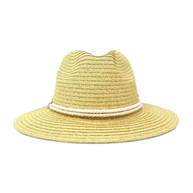 Rope and Anchor Paper Braid Safari Sun Hat