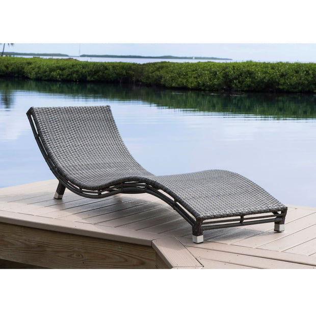Graphite Curve Chaise Lounge