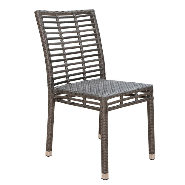 Graphite Stackable Side Chair
