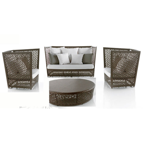 Maldives 4 PC Seating Set with Cushions