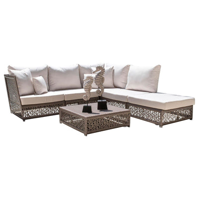Maldives 6 PC Sectional Set with Cushions