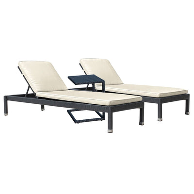 Onyx 3 PC Chaise Lounge Set