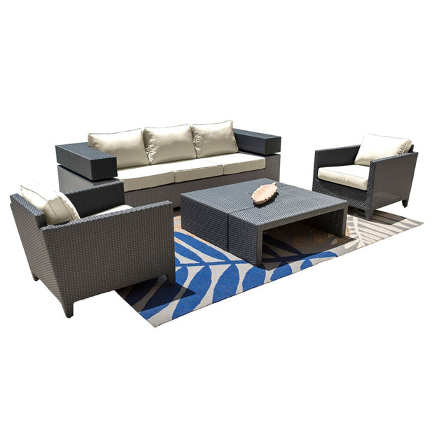 Onyx 4 PC Seating Set with Cushions