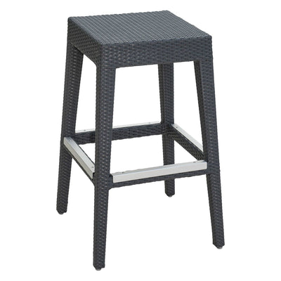 Onyx Backless Barstool
