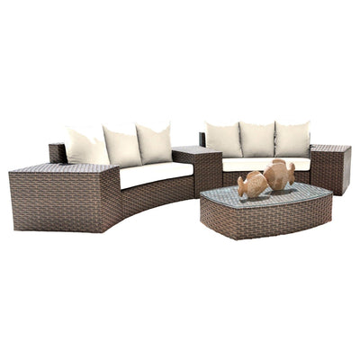 Big Sur 6 PC Sectional Set with Cushions