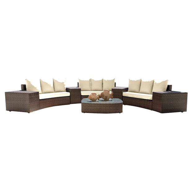 Big Sur 8 PC Sectional Set with Cushions
