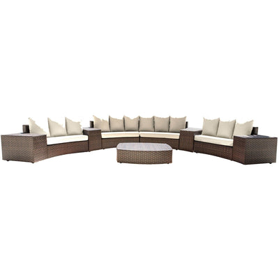 Big Sur 9 PC Sectional Set with Cushions