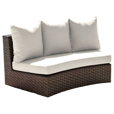 Big Sur Curved Loveseat with Cushion